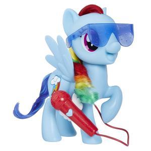 ORİJİNAL ÜRÜN Şarkı Söyleyen Pony Rainbow Dash E1975