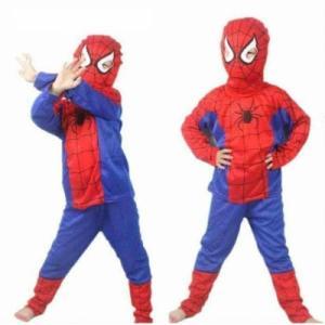 Örümcek Adam Çocuk Kostümü Parti Malzemeleri L 6-7 YAŞ