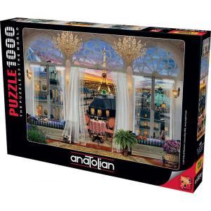 Anatolian Puzzle 1000 Parça Paris Teras Manzarası 1091
