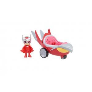Pj Masks PJ Maskeliler Turbo Blast Araçlar 24975 Owlette Kırmızı