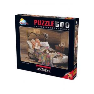 Anatolia Puzzle 500 Parça Ev Gibisi Yok 3541