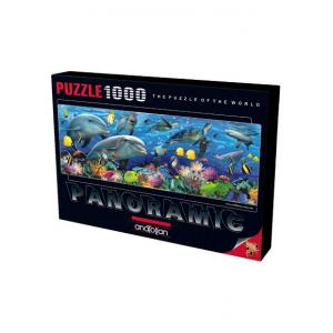 Anatolian Denizin Altında / Undersea 1000 Parça Puzzle