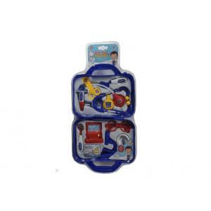 Çantalı Doktor Nurse Seti Mavi 11 Parça