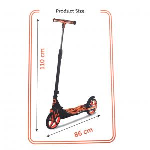 Cool Wheels Katlanabilir Scooter Turuncu 12 YAŞ