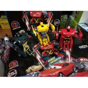 Transformers Cars Şimşek Mcqueen Robota Dönüşebilen Araba