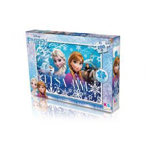 KS Puzzle 200 Parça Frozen - Karlar Ülkesi T113