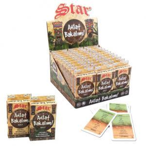 Star Anlat Bakalım Kelime Oyunu Yasaklı Kelimeler Kutu Oyunu 1-2 Seri