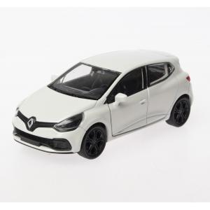 Welly 1:36 Ölçek Diecast Çek-Bırak Renault Clio RS -Beyaz