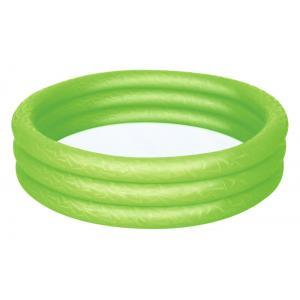 Bestway 51024 Üç Halkalı Yeşil Renkli Şişme Havuz 102 x 25 Cm