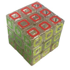 Yeni Nesil Şeffaf Fosforlu Zeka Küpü 3 lü Rubik Zeka Küpü 3*3*3