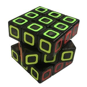 Yeni Ürün Fosforlu Zeka Küpü 3 lü Rubik Zeka Küpü 3*3*3