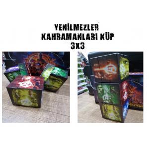 AVENGERS KAHRAMANLARI 3X3 RUBİK ZEKA KÜPÜ