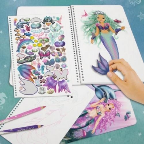 Top Model Fantasy Boyama Kitabi Deniz Kizi Kiz Oyun Setleri