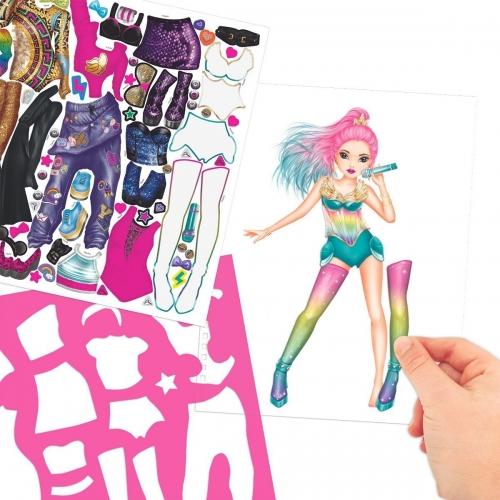 Top Model Popstar Boyama Kitabi 4324 Kiz Oyun Setleri Online